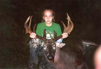 Corky gets a big buck!