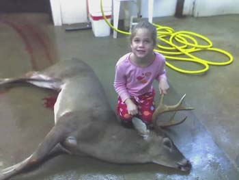 Pretty Girl and Big Buck