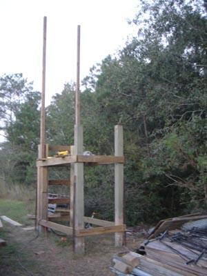 construct a deer stand